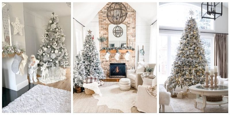 White Christmas Tree Ideas