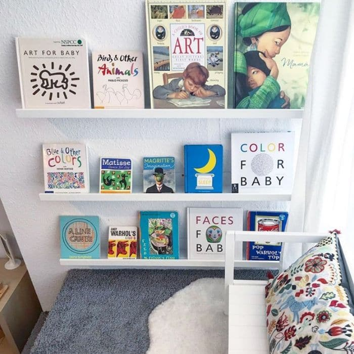 A book nook for children by Montessori Mother