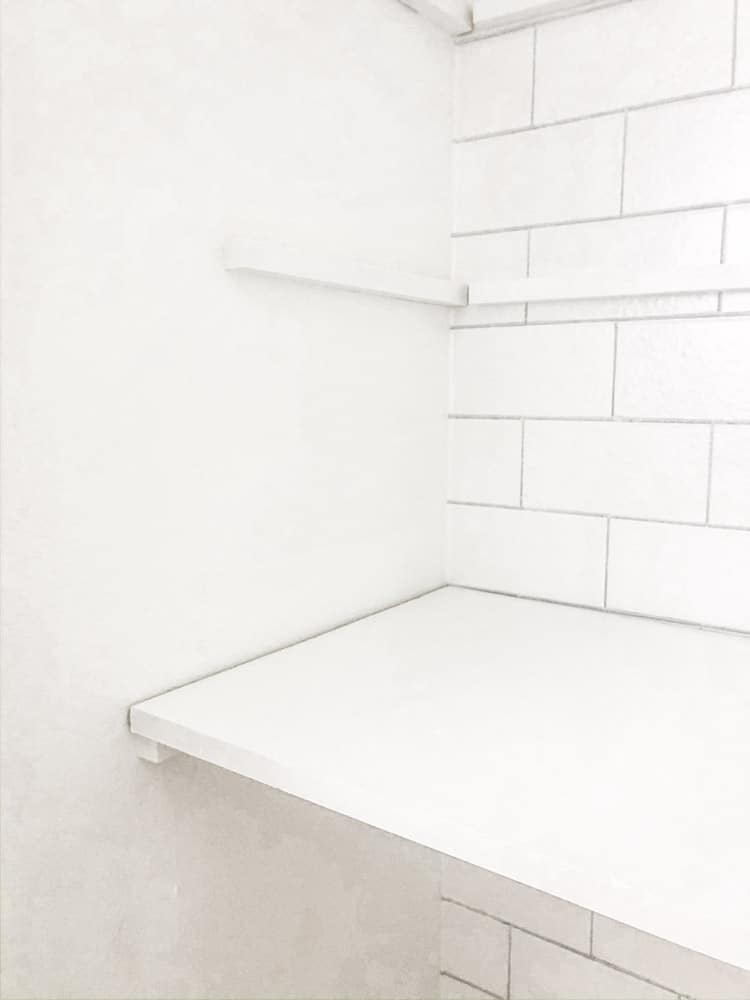 Install microwave shelf