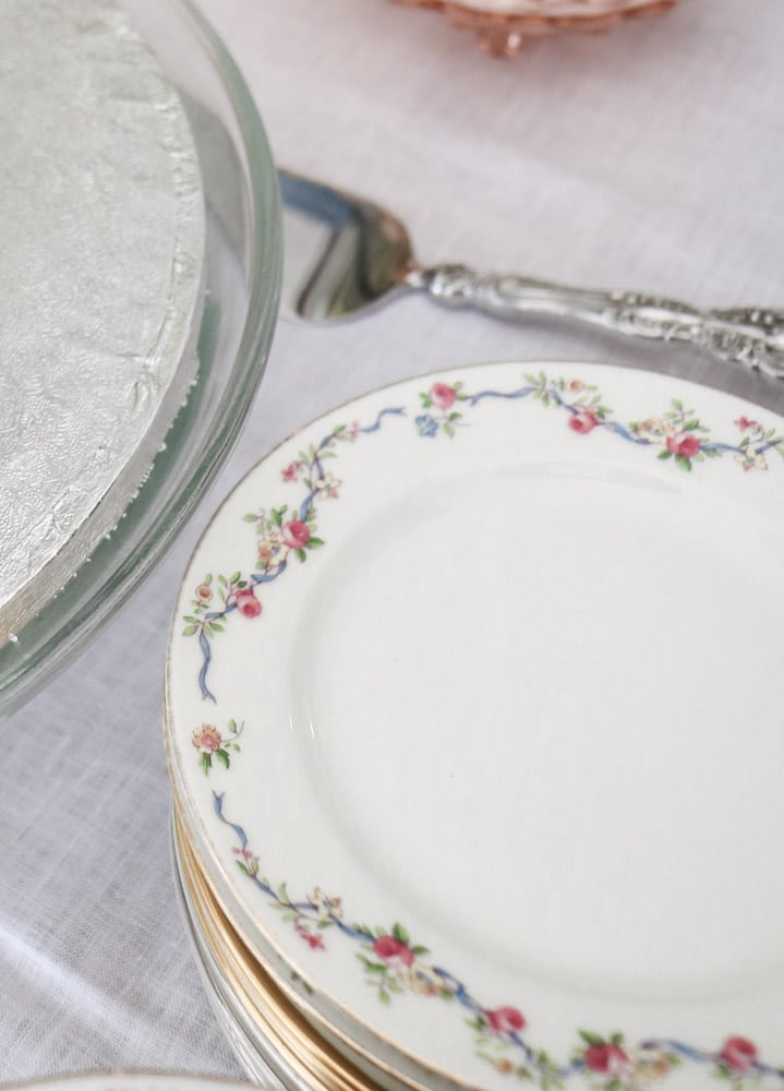 China for a Southern bridal shower