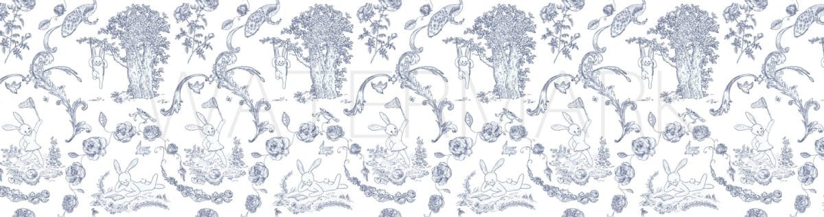 May Day Mothers Day basket toile pattern