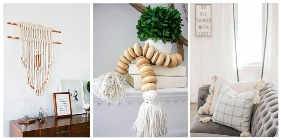 HOME DECOR YARN PROJECTS