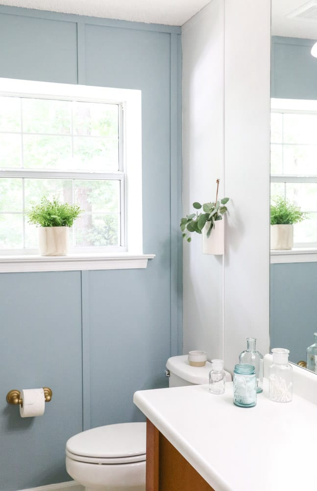 Paint over wallpaper with Sherwin Williams