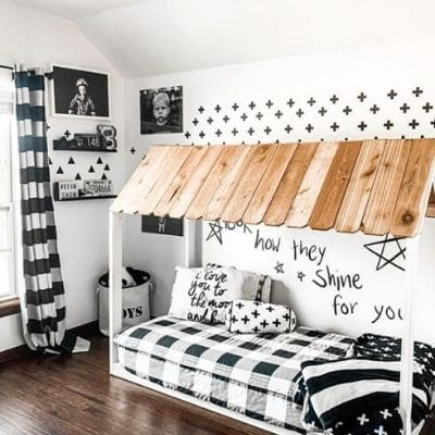 CLUBHOUSE Little Boys room idea