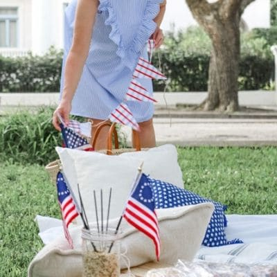 Patriotic picnic decoration ideas