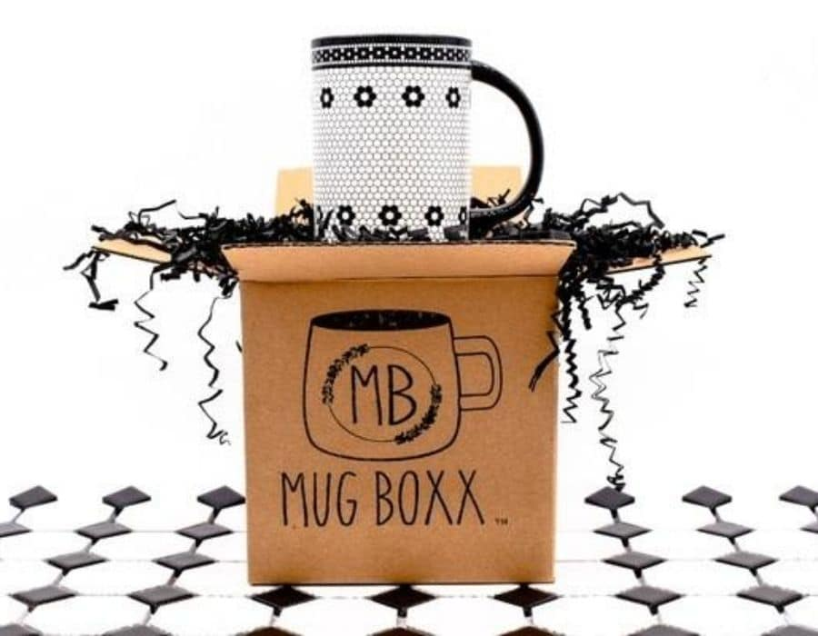 Mug Boxx subscription.  Little box filled with a beautiful mug each month.  Great gift for her or him.