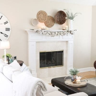 farmhouse paint colors in a living room