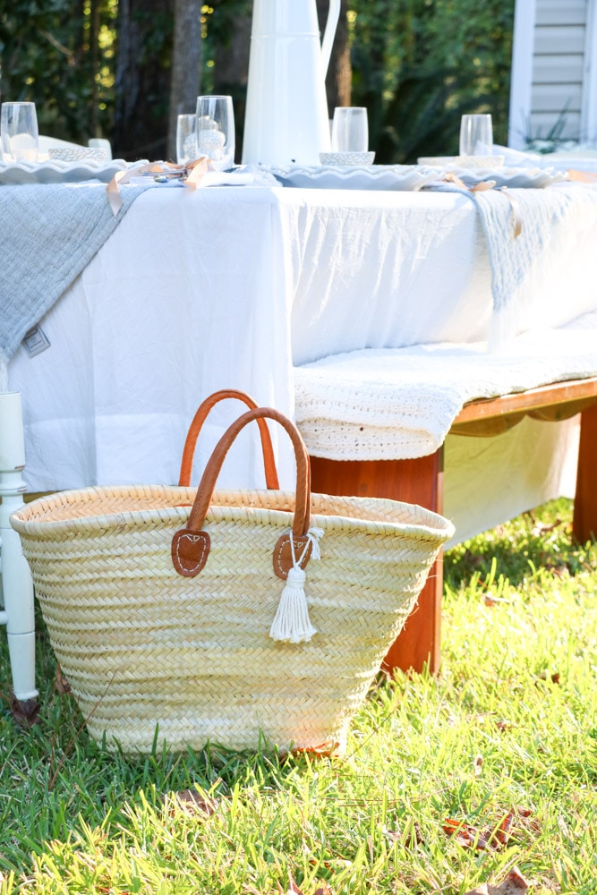 French shopping cart gift idea for Mother's Day