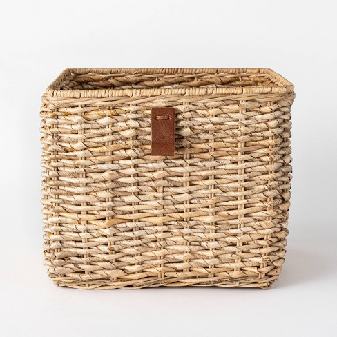 Basket storage idea