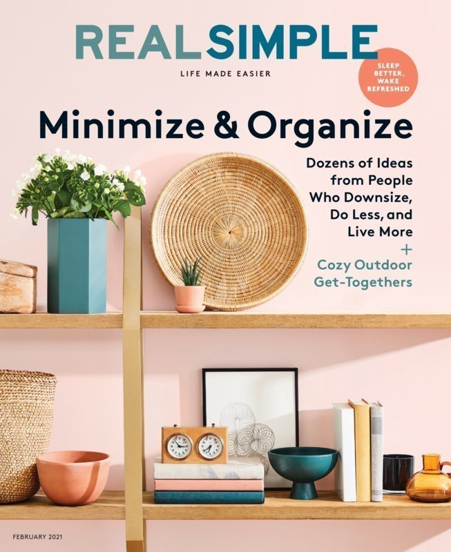 Best home decorating and organizing magazines like Real Simple