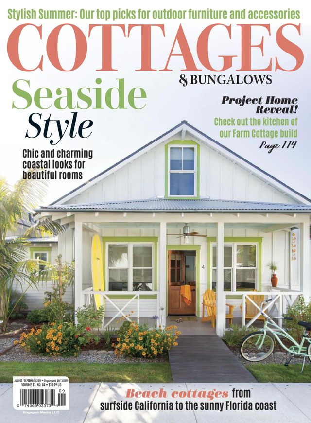 Best home decor magazine subscriptions like Cottages and Bungalows