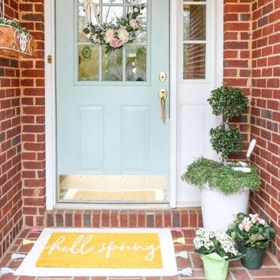 spring front porch decor ideas