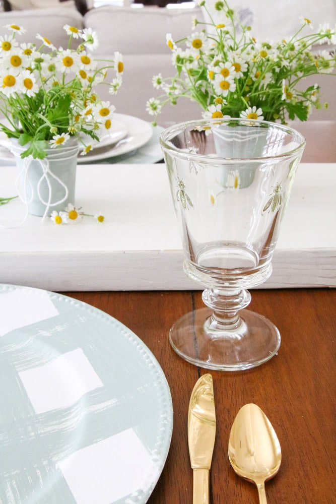 La Roschere bee collection. Glassware. Mother's day gift idea