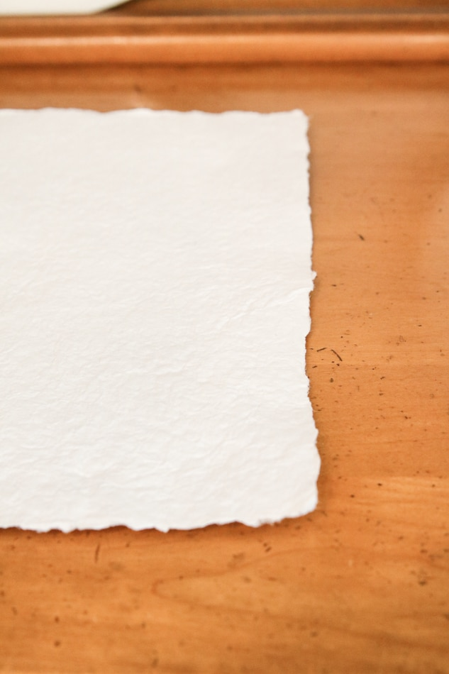 How to make handmade paper from recycled paper