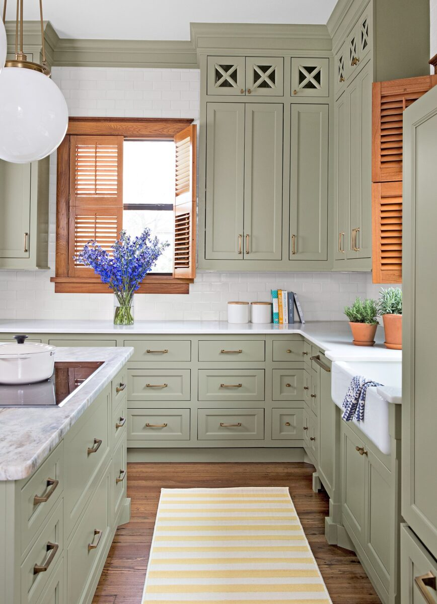 Best Sherwin William paint colors Clary Green