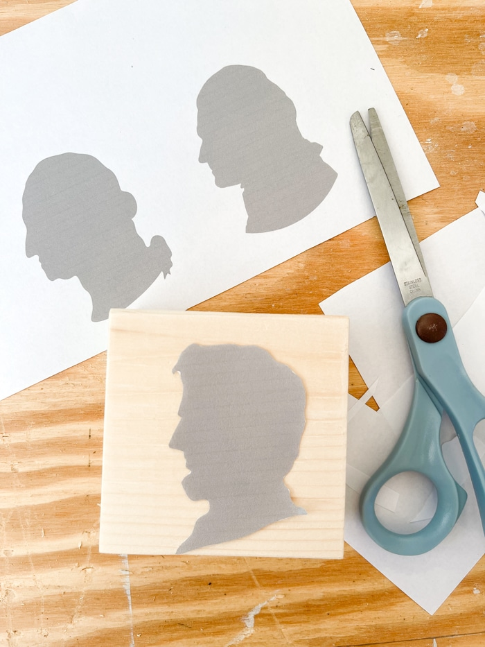 Cut out the president profiles
