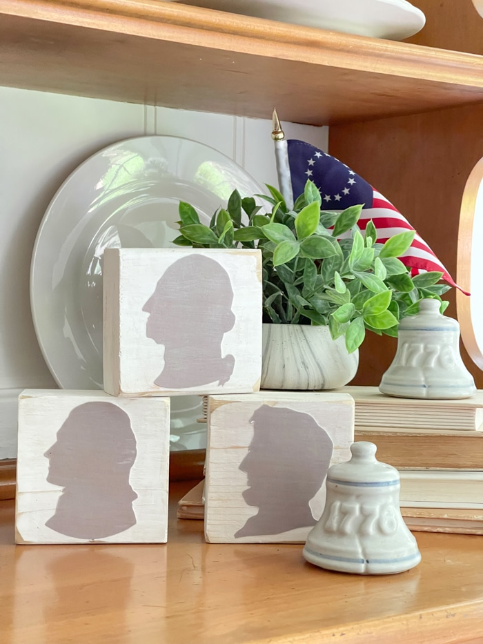 presidents silhouettes craft