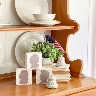president silhouettes craft