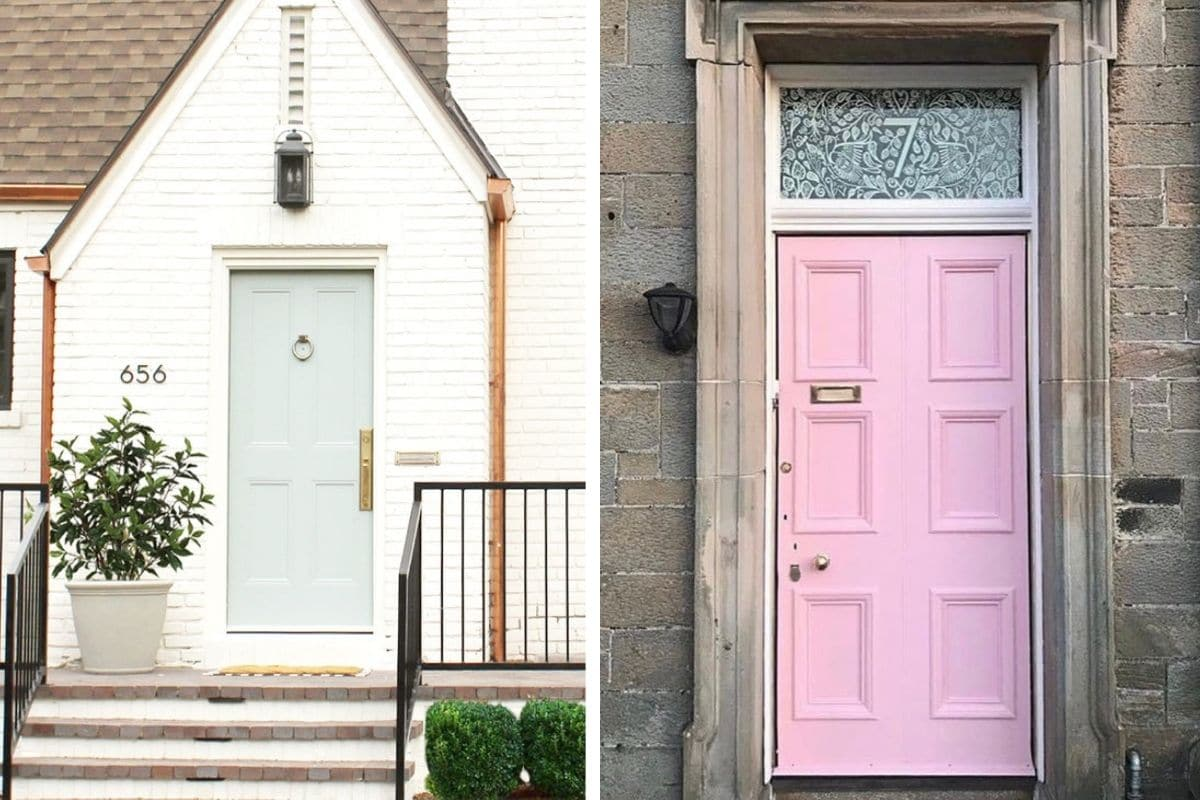 Timeless and classic decorative house number ideas.