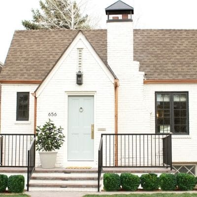 Classic decorative house number ideas